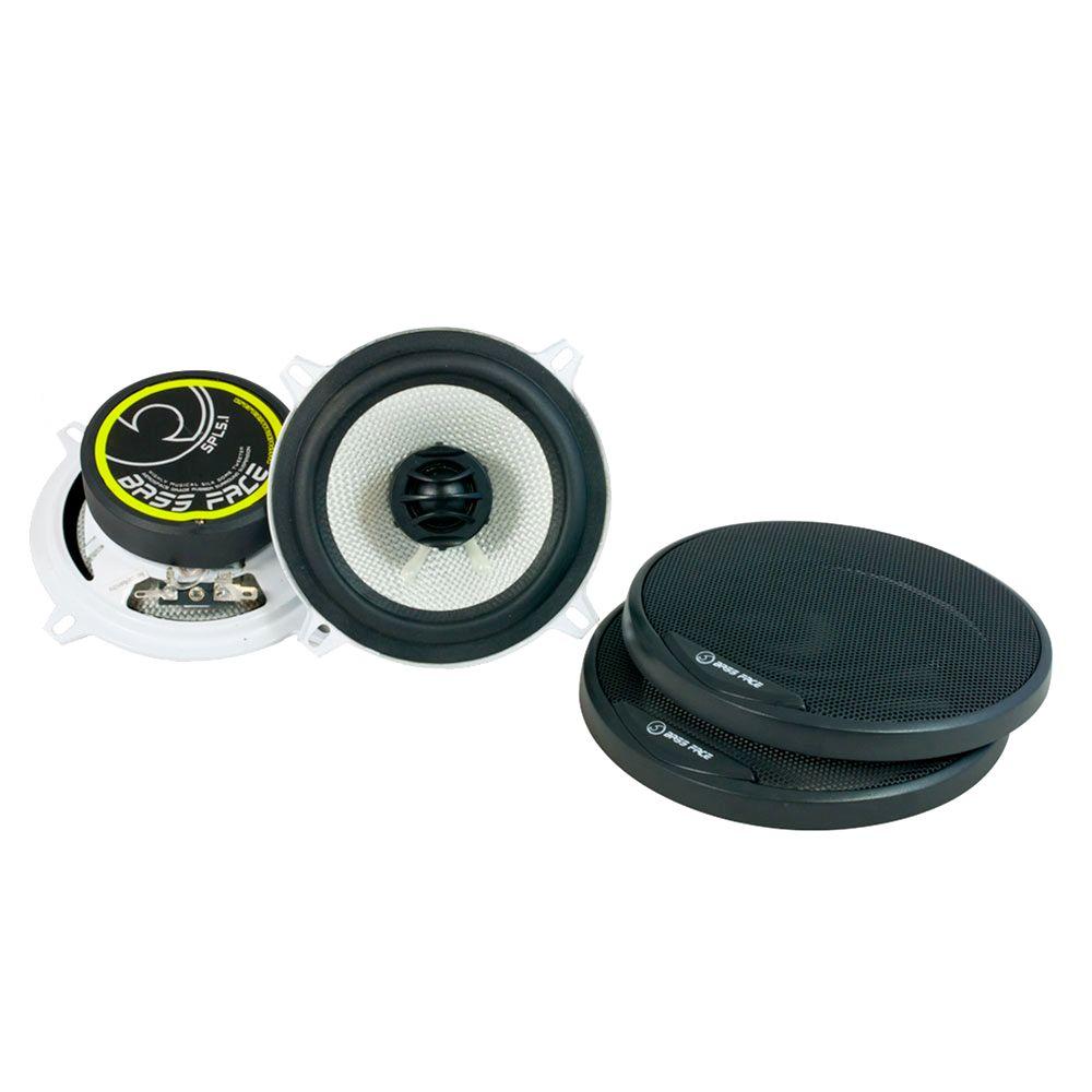 "Bassface SPL5.1 500w 5.25"" Inch 13cm Coaxial 2Way Car Door Shelf Speakers Pair"