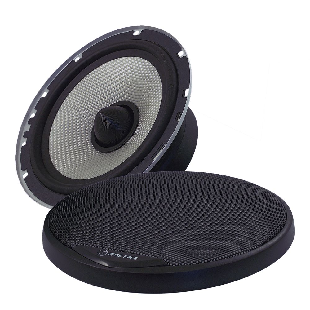"Bassface SPL6M.2 6.5"" 16.5cm 300w 4Ohm Midbass Driver Car Door Speaker Single"