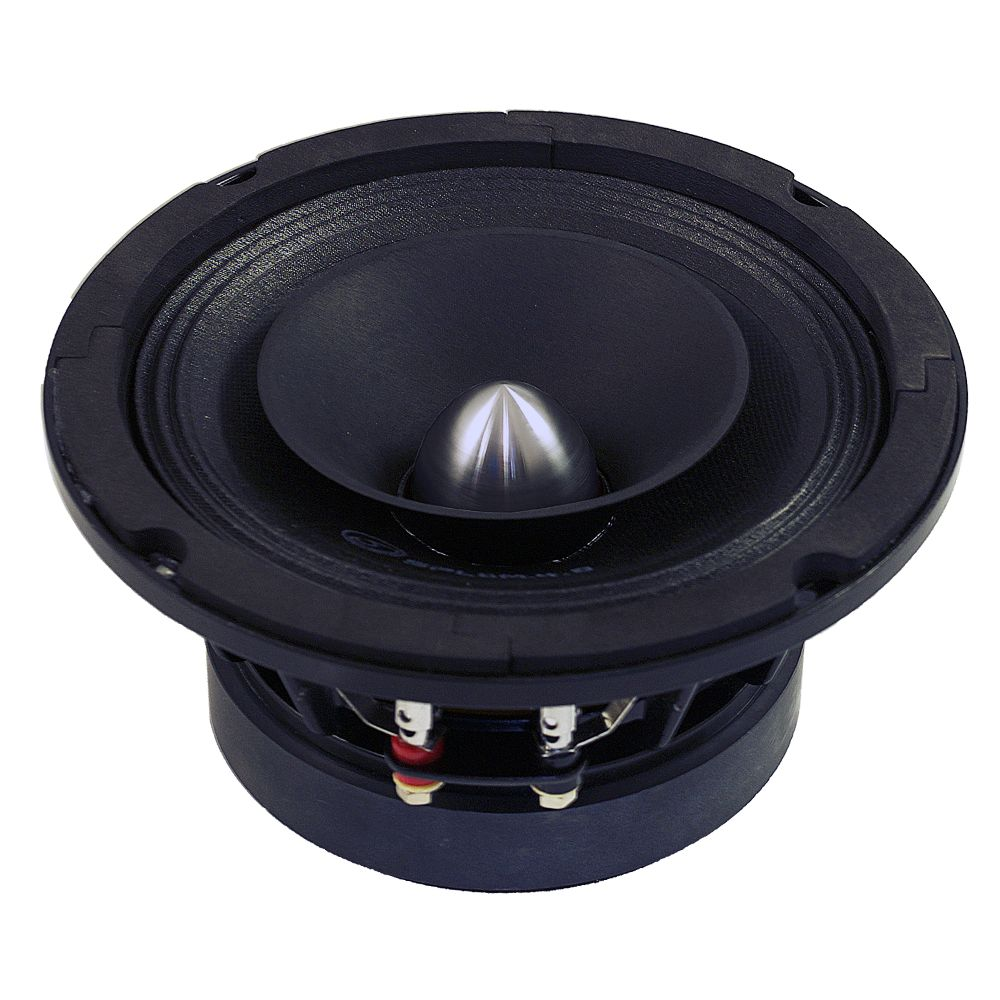 "Bassface SPL6M.4 6.5"" 16.5cm 300w 8Ohm Midbass Driver Car Speaker SQ SPL Single"