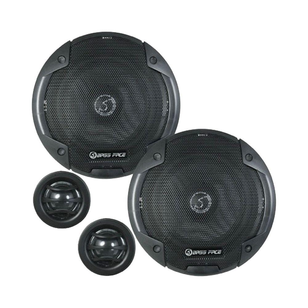 "Bassface BLACKSPL5C.1 800w 5.25"" Inch 13cm SQ Car Door Component Speaker Kit"
