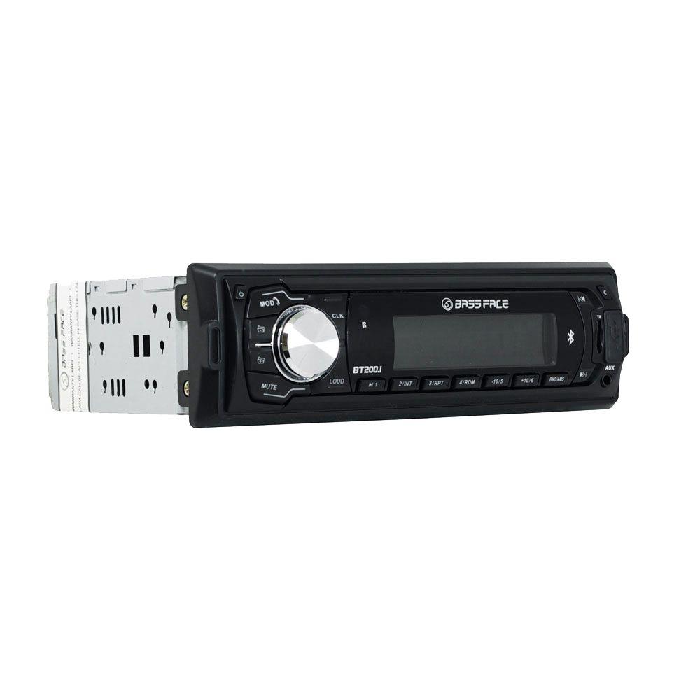 Bassface BT200.1 240w MP3 AUX Car Stereo Head Unit Radio Bluetooth USB SD iPhone