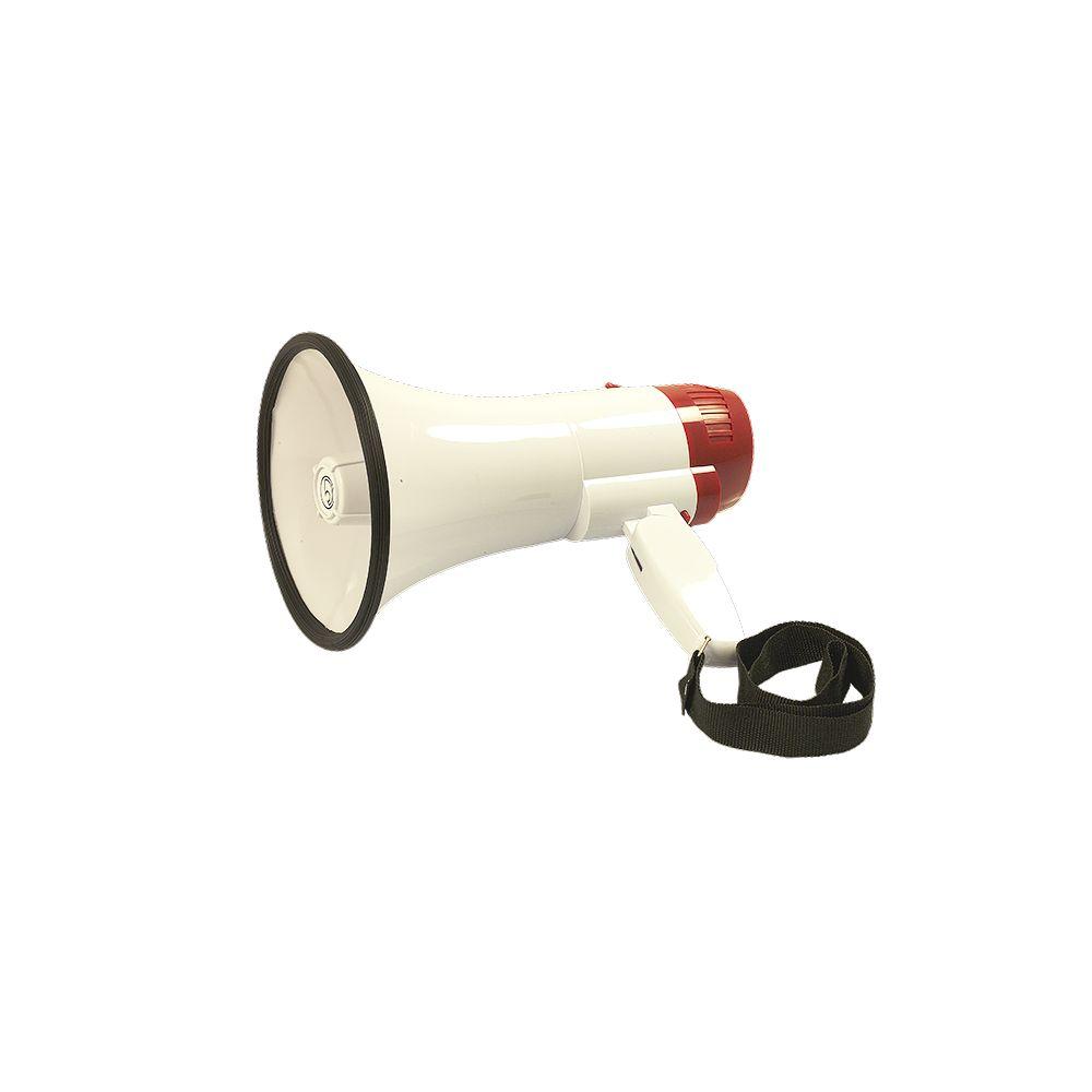 Bassface MP1.1 Portable Megaphone Speaker Loud Hailer With 400 Meter Voice Range