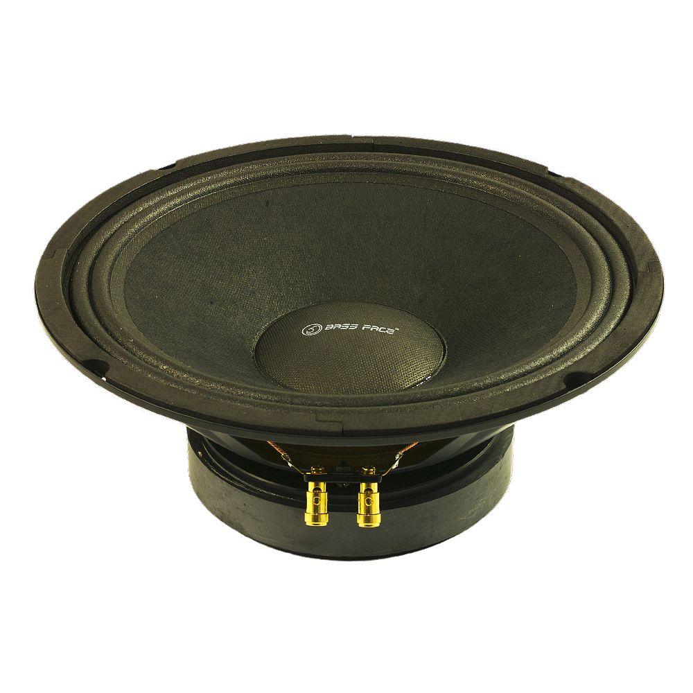 "Bassface PAW10.1 400w 10"" 26cm 8Ohm Midrange Midbass Driver SQ Speaker Single"