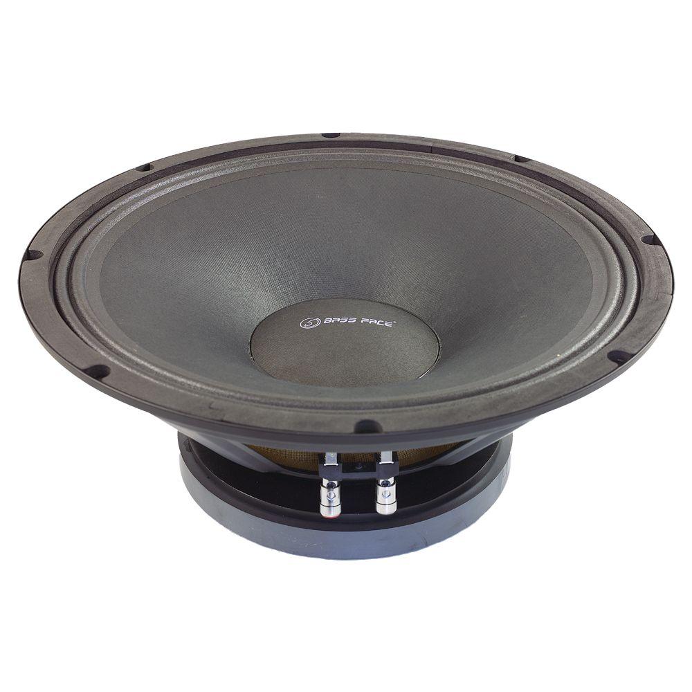 "Bassface PAW15.1 800w 15"" 38cm 8Ohm Mid Woofer Bass Driver SQ Speaker Single"