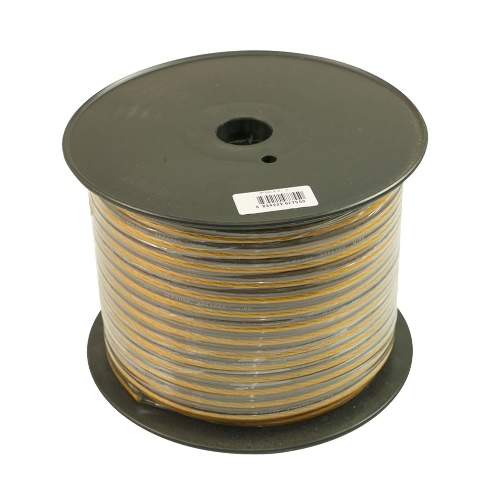 Bassface PSC12.1 75m Roll 12AWG 3.3mm 15% CCA Speaker Cable Wire 287 Strand