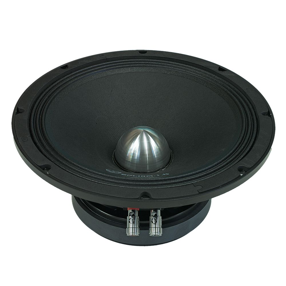 "Bassface SPL10M.1s 800w 10"" 25cm 4Ohm Cast Basket Midrange Midbass Driver SPL Speaker Single"