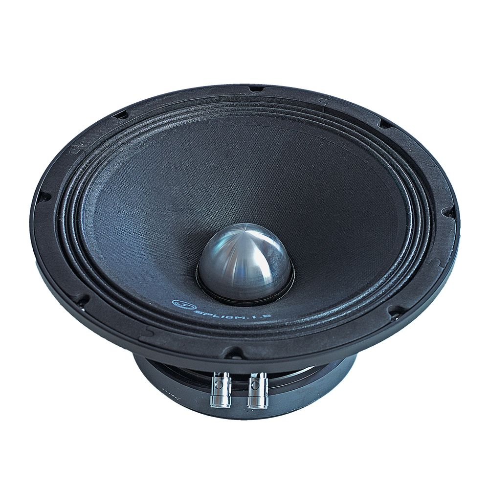 "Bassface SPL10M.1s 800w 10"" 25cm 8Ohm Cast Basket Midrange Midbass Driver SPL Speaker Single"