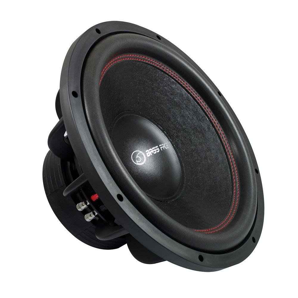 """Bassface SPL15.2 15"""" Inch 38cm 4000w Car Subwoofer 2x4Ohm DVC Sub Woofer SPL SQ"""