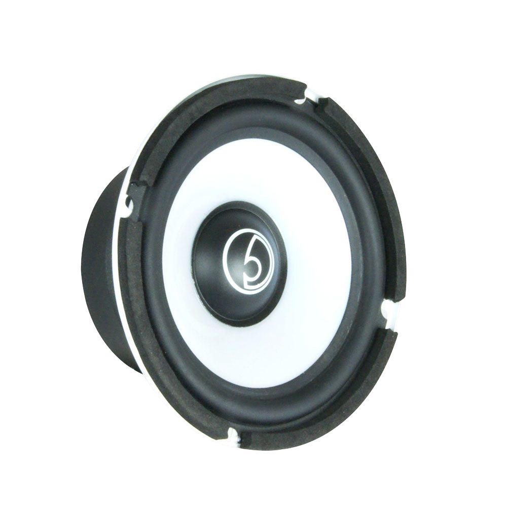 "Bassface SPL5M.1 5.25"" 13cm 200w 4Ohm Midbass Driver Car Door Speaker Single"