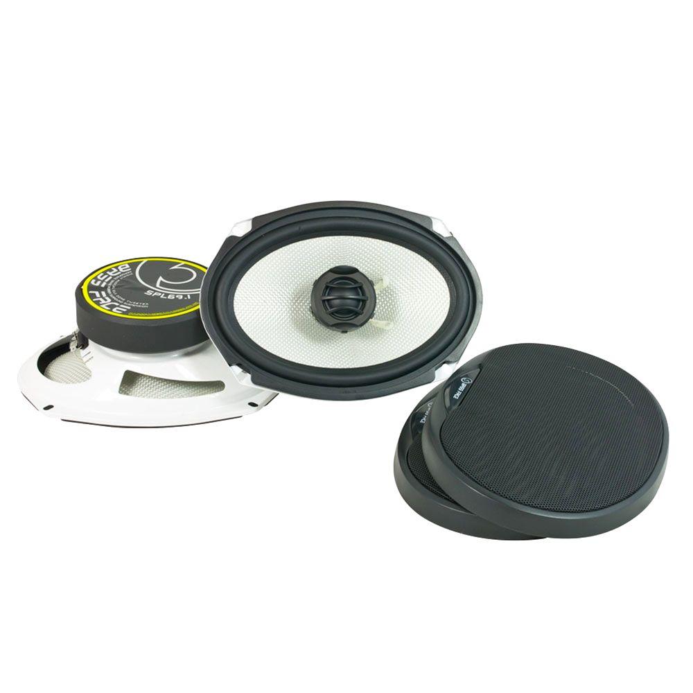 "Bassface SPL69.1 1000w 6x9"" Inch 15x23cm Coaxial 2Way Parcel Shelf Speakers Pair"