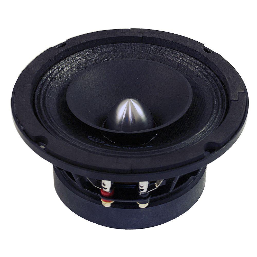 "Bassface SPL6M.4 6.5"" 16.5cm 300w 4Ohm Midbass Driver Car Speaker SQ SPL Single"