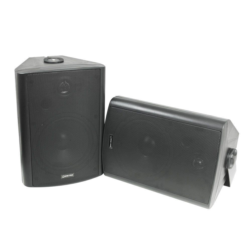 Bassface SPLBOX.3B 600w Marine Boat Patio Outdoor Garden Waterproof Speaker Pair