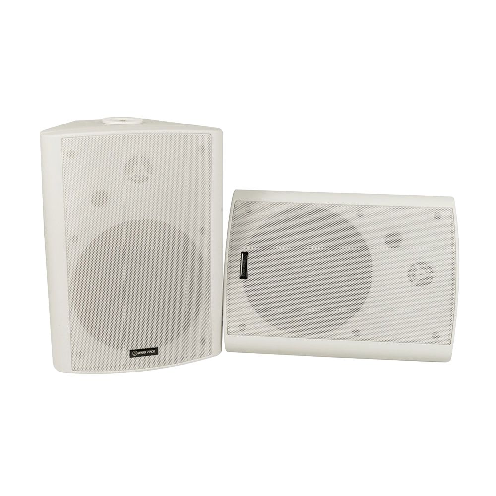 Bassface SPLBOX.3W 600w Marine Boat Patio Outdoor Garden Waterproof Speaker Pair