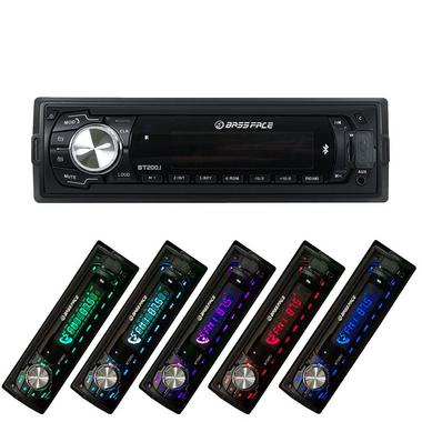 Bassface BT200.1 240w MP3 AUX Car Stereo Head Unit Radio Bluetooth USB SD iPhone Thumbnail 5