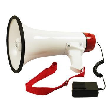 Bassface MP1.2 Portable Megaphone Speaker Loud Hailer With 500 Meter Voice Range Thumbnail 1