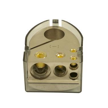 Bassface PBTN.1 Car Audio Battery Negative Terminal 1x0AWG 1x4AWG 2x8AWG Inputs Thumbnail 1