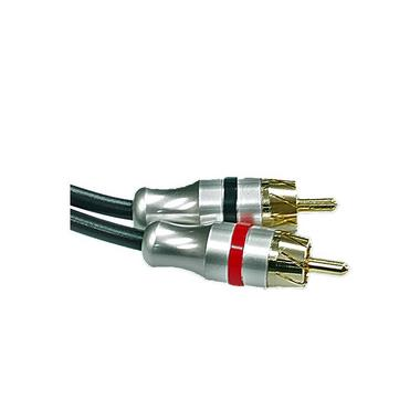 Bassface PRCAYF.2 Pure OFC Shielded RCA Phono Audio Cable Y Lead Splitter 2F 1M Thumbnail 2