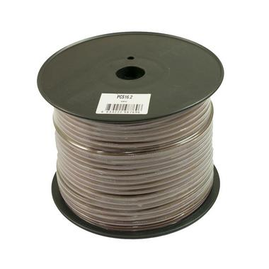 Bassface PSC16.2 150m Roll 16AWG 1.5mm Pure OFC Speaker Cable Wire 112 Strand Thumbnail 1