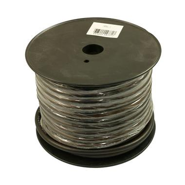 Bassface PWN4.1 CCA 4AWG 21mm Black Negative Wire Cable Spool 30m 1862 Strand Thumbnail 1