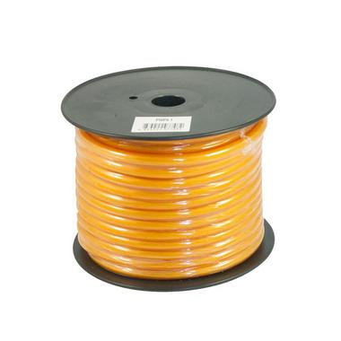 Bassface PWP4.1 CCA 4AWG 21mm Orange Power Wire Cable Spool 30m 1862 Strand Thumbnail 1