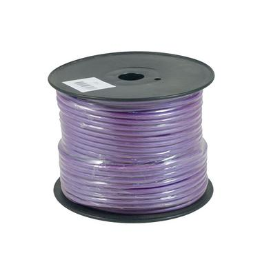 Bassface PWN8.2 OFC 8AWG 8.4mm Purple Power Wire Cable Spool 75m 728 Strand Thumbnail 1