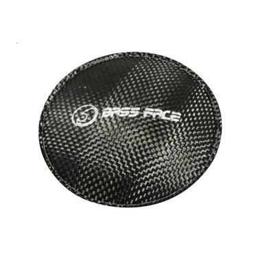 """Bassface SDC.1 Carbon Dust Cap Dustcap Sub Subwoofer Upgrade 4"""" 12cm 120mm Thumbnail 1"""
