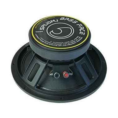 "Bassface SPL10M.1s 800w 10"" 25cm 4Ohm Cast Basket Midrange Midbass Driver SPL Speaker Single Thumbnail 3"