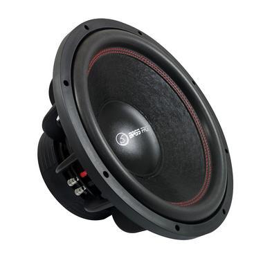 "Bassface SPL15.2 15"" Inch 38cm 4000w Car Subwoofer 2x4Ohm DVC Sub Woofer SPL SQ Thumbnail 1"