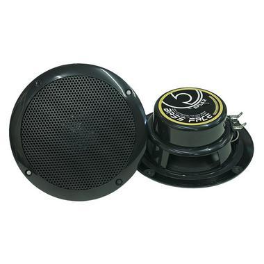 "Bassface SPL5.2B 250w 5.25"" Inch 13cm Waterproof Marine Boat Speaker Pair Black Thumbnail 1"