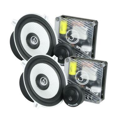 """Bassface SPL5C.2 700w 5.25"""" Inch 13cm Car Door Component Speaker & Tweeter Kit Thumbnail 1"""