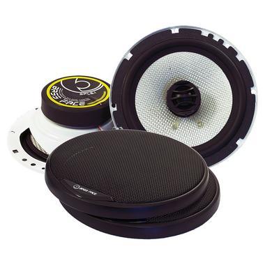 "Bassface SPL6.1 600w 6.5"" Inch 16.5cm Coaxial 2Way Car Door Shelf Speakers Pair Thumbnail 1"