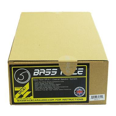 "Bassface SPL6.1 600w 6.5"" Inch 16.5cm Coaxial 2Way Car Door Shelf Speakers Pair Thumbnail 3"