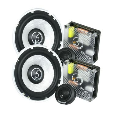 "Bassface SPL6C.2 900w 6.5"" Inch 16.5cm Car Door Component Speaker & Tweeter Kit Thumbnail 1"