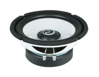 "Bassface SPL6M.3 6.5"" 16.5cm 250w 4Ohm Midbass Driver Car Door Speaker Single Thumbnail 4"