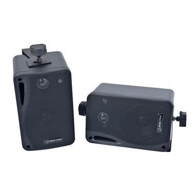 Bassface SPLBOX.1 200w Versatile Mini Box Dash Wall Speakers Car Truck Van Pair Thumbnail 1
