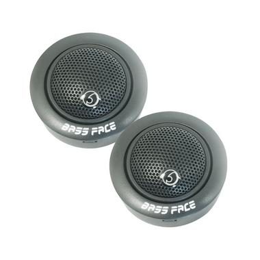 "Bassface TWEETERSPL5C.2 200w 0.75"" Inch 20mm Car Pure Silk Dome SQ Tweeters Pair Thumbnail 1"