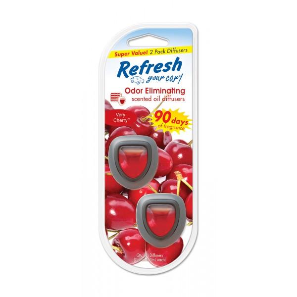 Refresh 2pk Mini Diffuser Very Berry