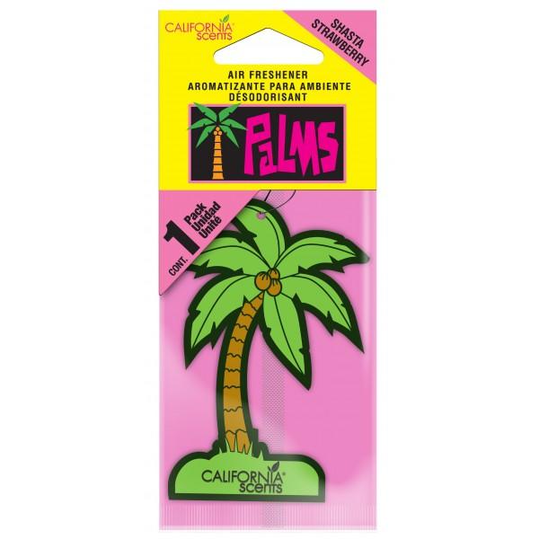 California Scents Palms Air Freshener Shasta Strawberry