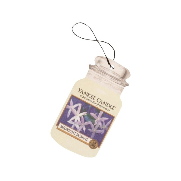Yankee Candle Classic Car Office Home Long Lasting Air Freshener Midnight Jasmine