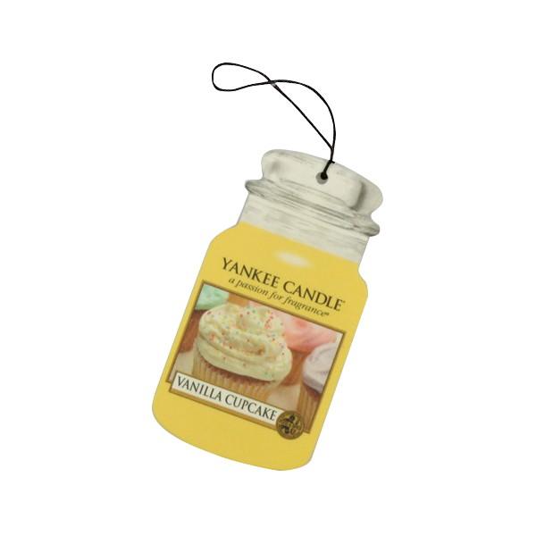 Yankee Candle Classic Car Office Home Long Lasting Air Freshener Vanilla Cupcake