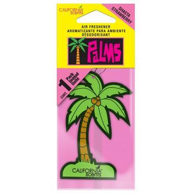 California Scents Palms Air Freshener Shasta Strawberry Thumbnail 1