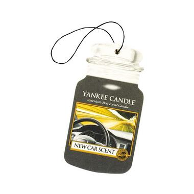 Yankee Candle Classic Car Jar Air Freshener New Car Sent Thumbnail 1