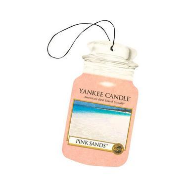 Yankee Candle Classic Car Jar Air Freshener Pink Sands Thumbnail 1