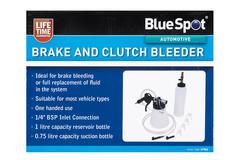Brake Clutch Bleeder Autmotive Garage Workshop Bluespot Single