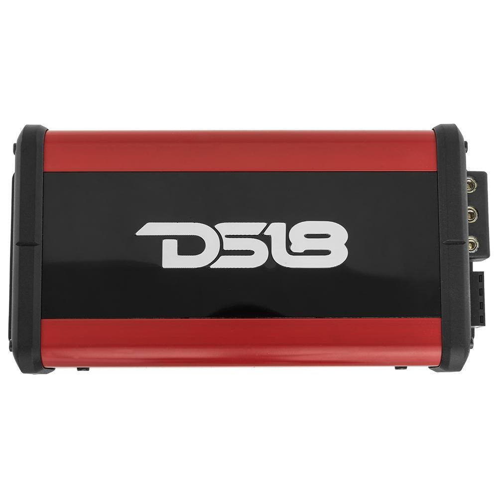 DS18 ATOM2 In Car Audio 2 Channel 400 Watt Nano Amp Amplifier