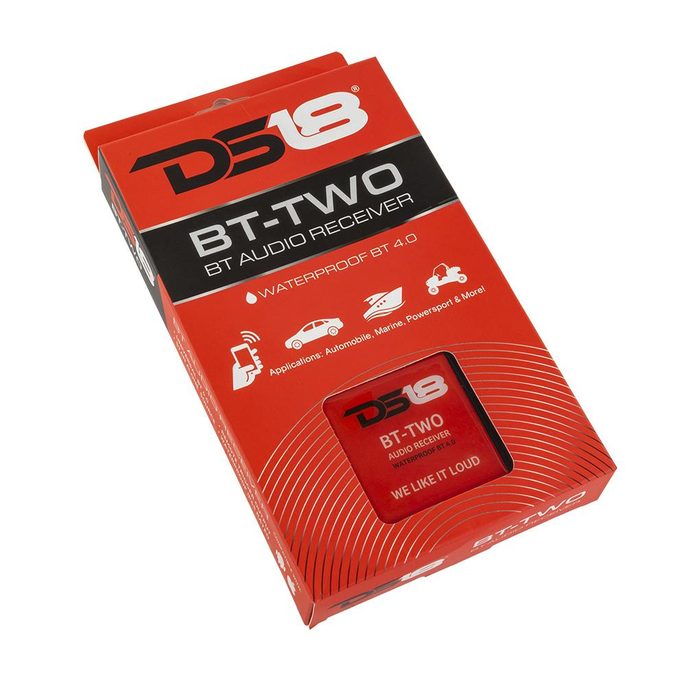 DS18 BT-TWO Bluetooth Streaming In Car Audio Iphone Aux Smart Phone Receiver