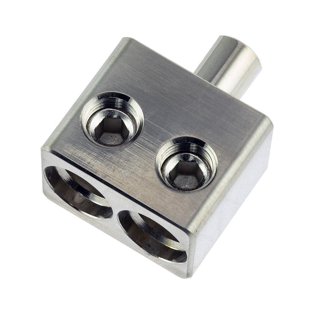 DS18 DPIV1/0 Dual 1/0 Gauge GA Amp Amplifier Input Reducer Stubs Pair