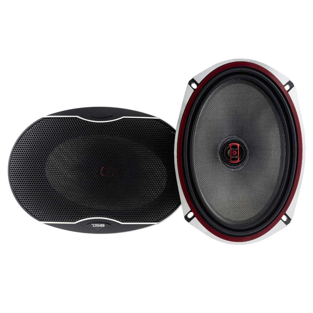 "DS18 EXL-SQ6.9 560 Watts 6x9"" Inch Coaxial Speakers Pair"