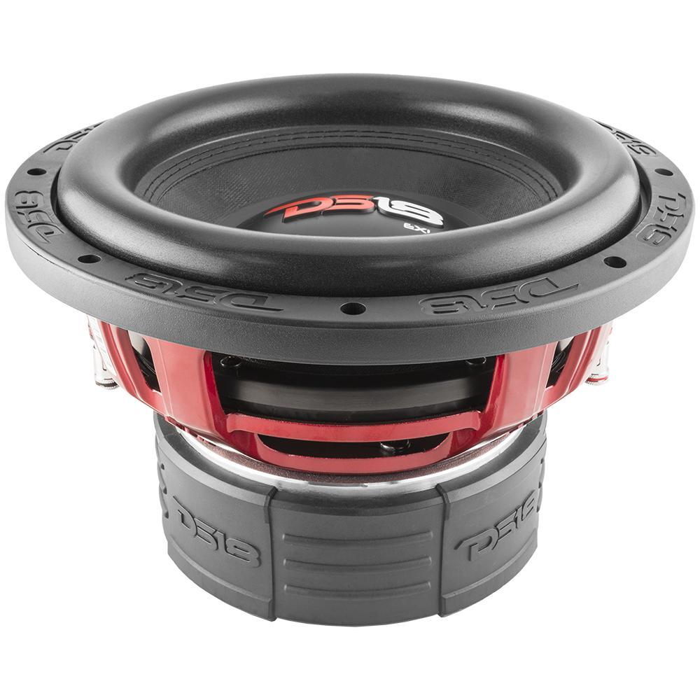 DS18 EXL-X10.2D In Car Audio 2 Ohm DVC 1700 Watt SPL SQ Sub Subwoofer
