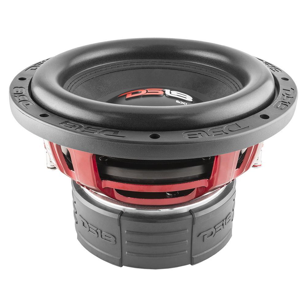 DS18 EXL-X10.4D In Car Audio 4 Ohm DVC 1700 Watt SPL SQ Sub Subwoofer
